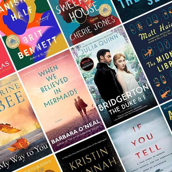 books to read in 2021 tile of book covers