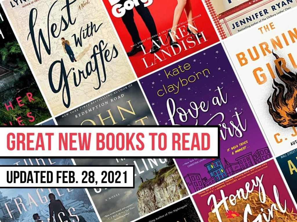 book covers of newly released books to read updated Feb 28, 2021
