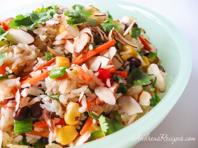 Confetti Rice Salad via Andrea Meyers