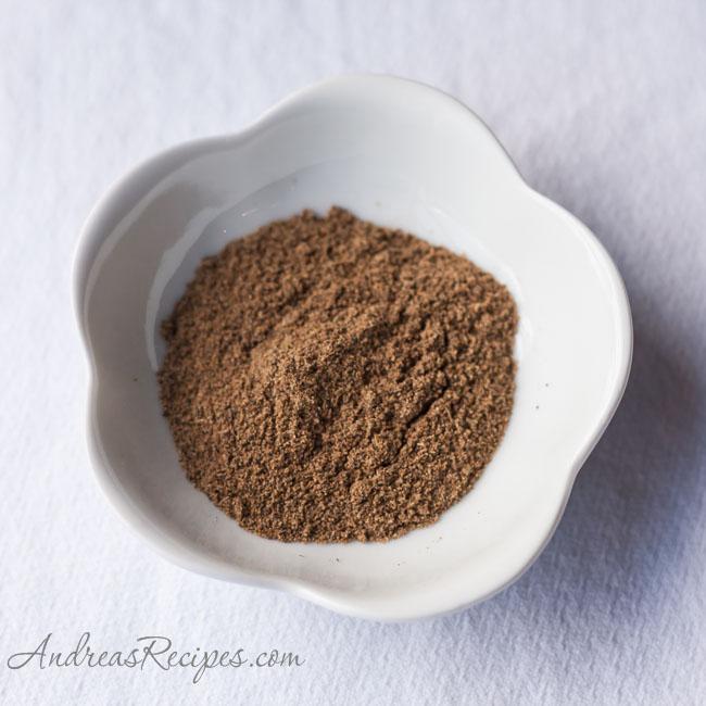 Garam Masala spice - Andrea Meyers
