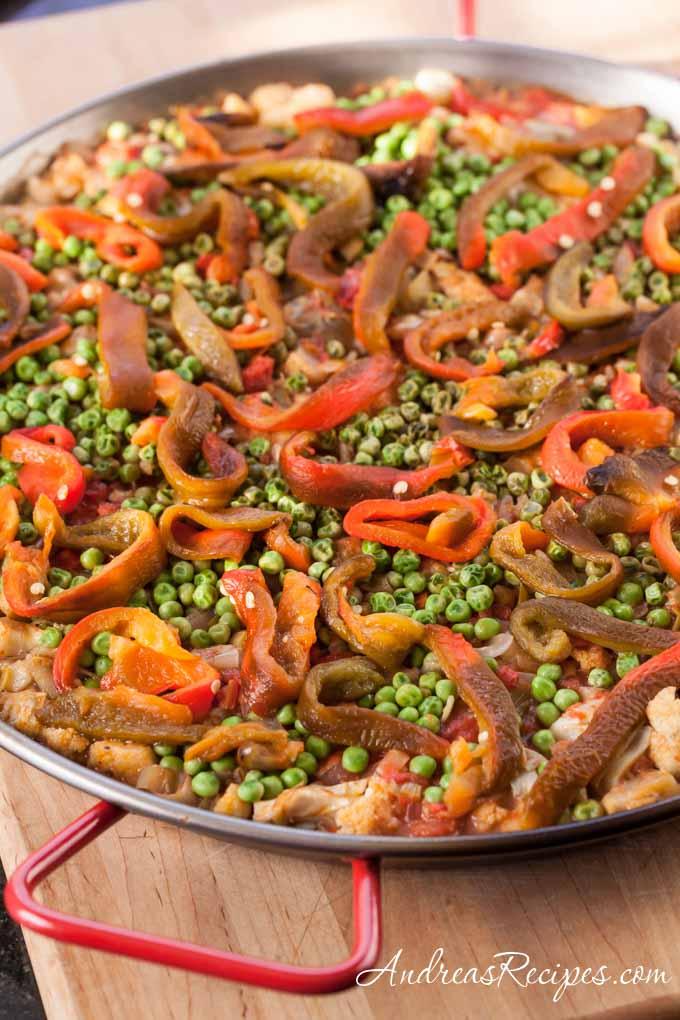 Vegetable Paella - Andrea Meyers