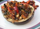 Andrea's Recipes - Grilled Stuffed Eggplant