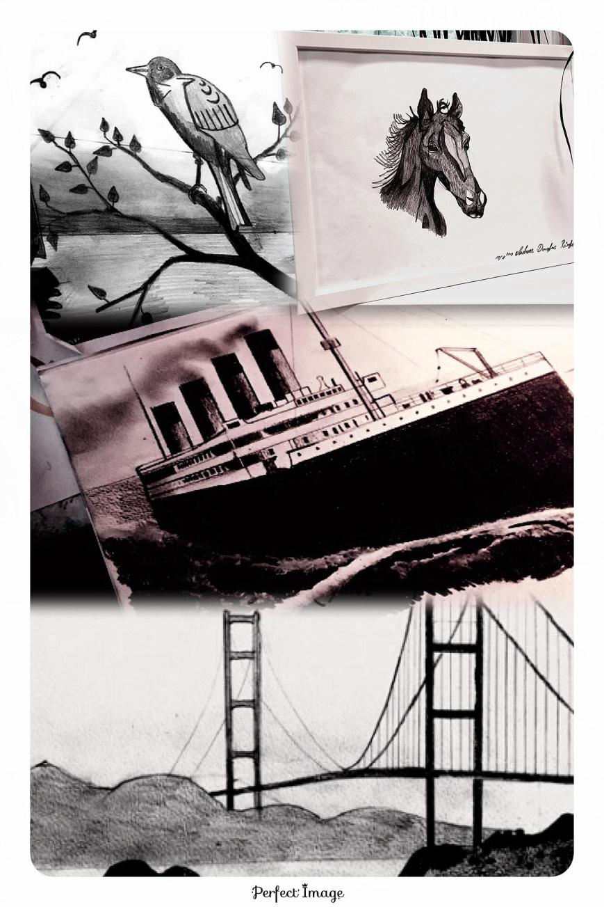 TITANIC CALIFORNIA ART
