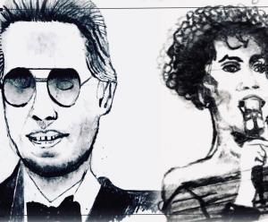 Homepage Konstnär Andreas Rörqvist Skiss Porträtt Svartvit Art Sketching Portraits