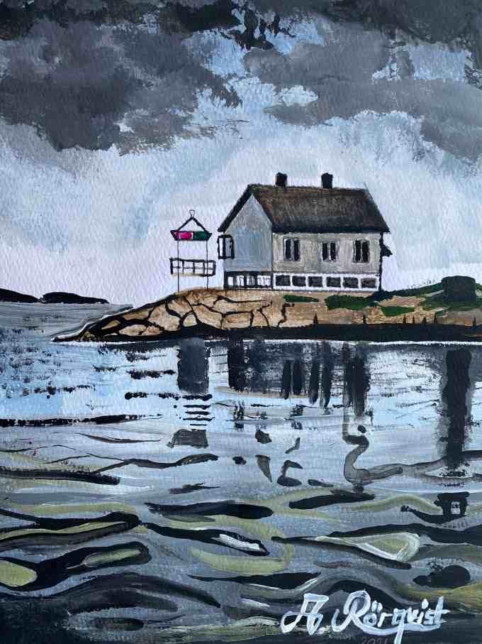Bohuslän, Västkusten, Marstrand, Andreas Rörqvist, Konst, Akrylfärg, Kungälv