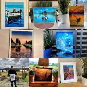 Homepage gallery art