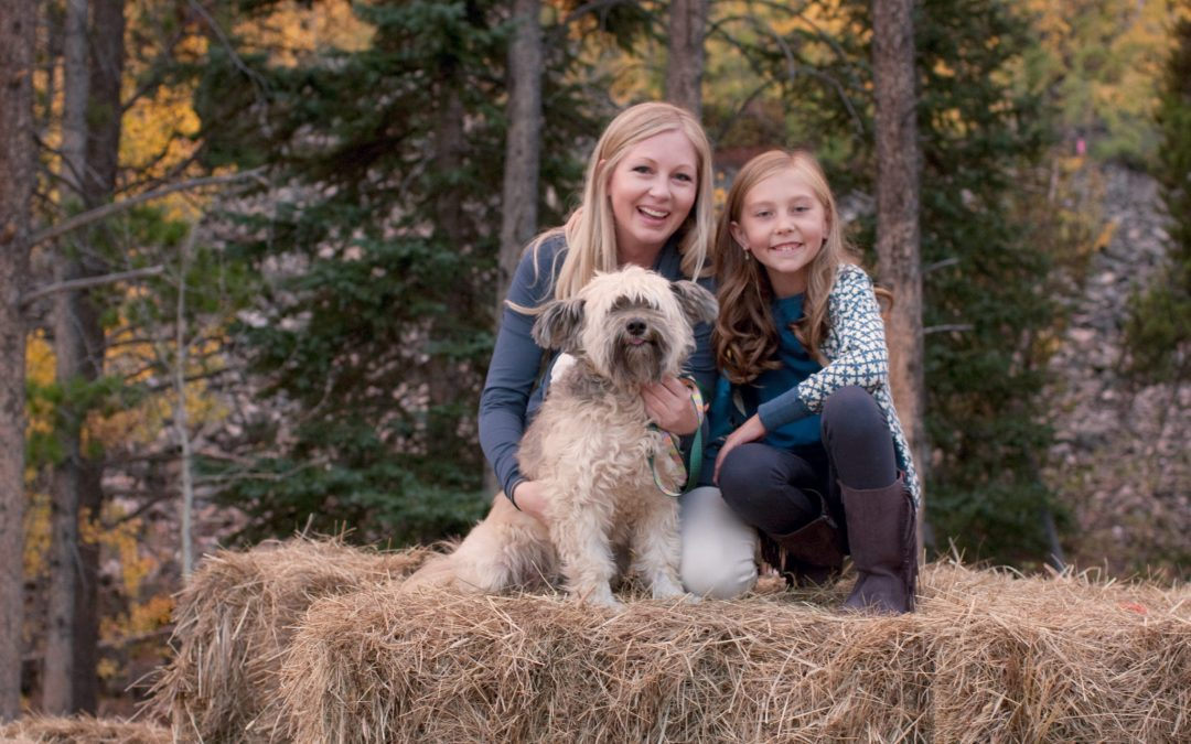 Elisabeth & Zoe Fall Family Session in Breckenridge, Colorado