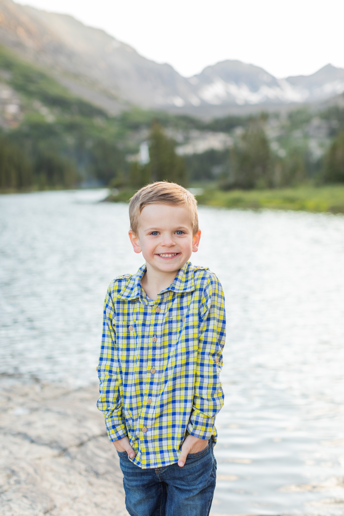 blue lakes breckenridge photography session