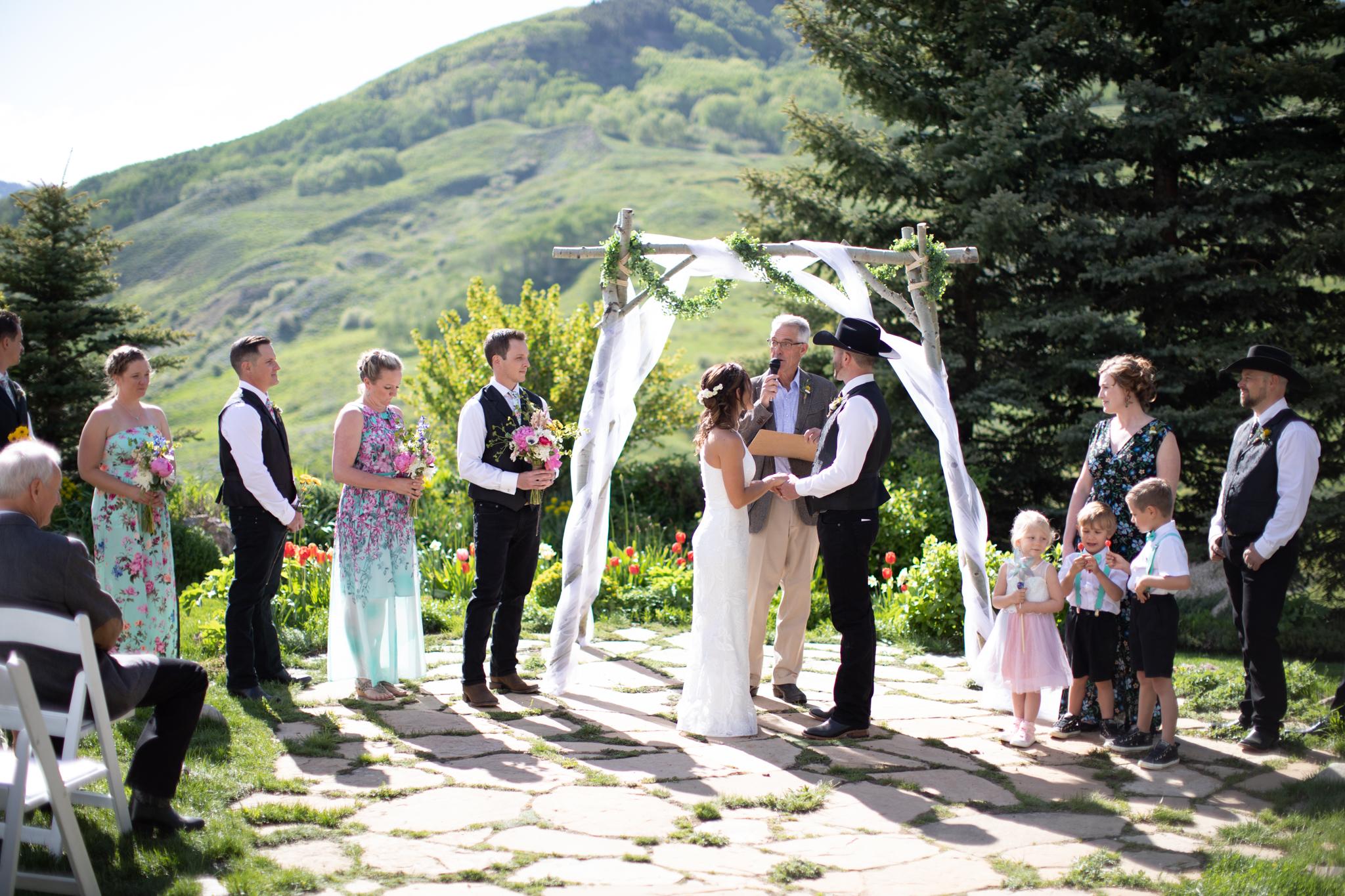 Crested Butte Mountain Wedding Garden 23