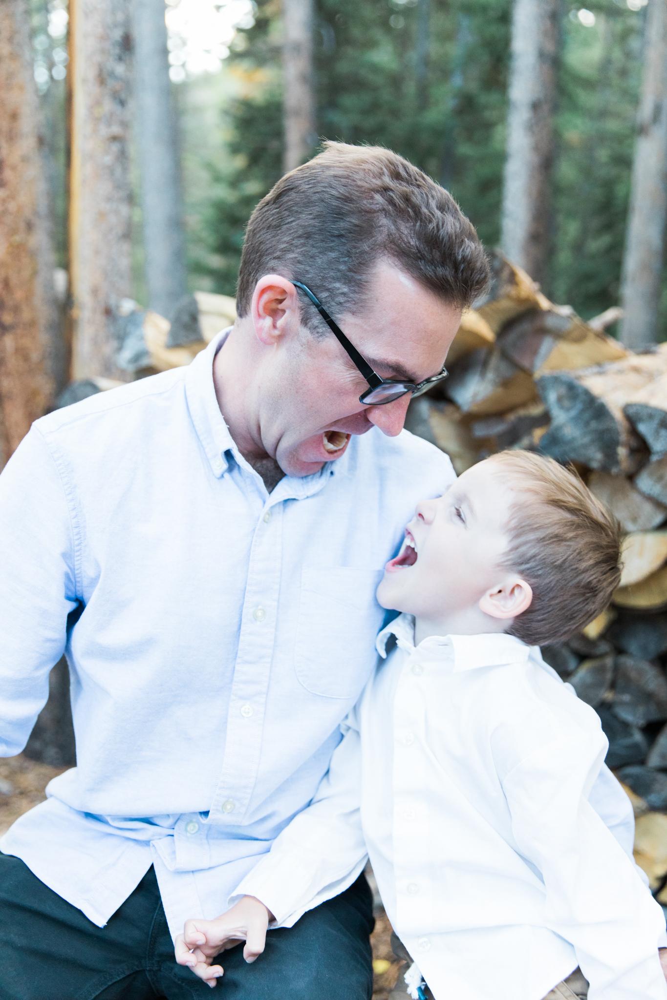 flanagan fall family photography session breckenridge colorado
