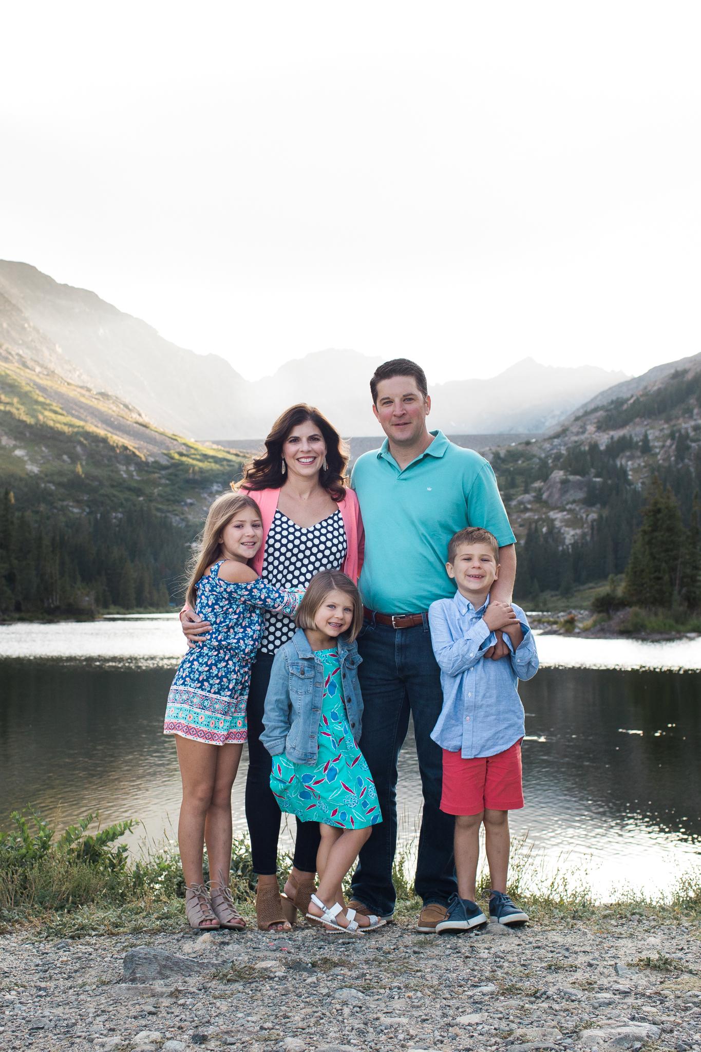 Polareck FamilyBlue Lakes, CO