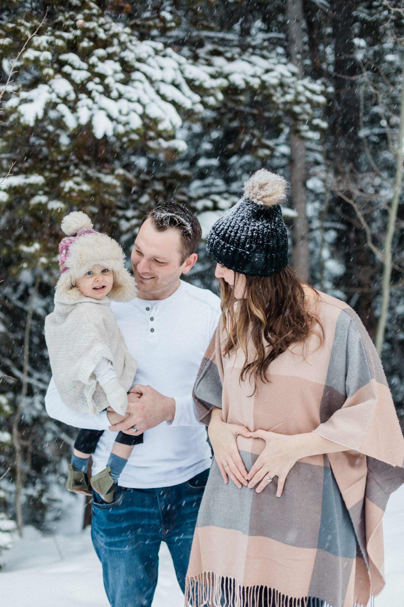 Kennedy Pregnancy Announcement Breckenridge Colorado