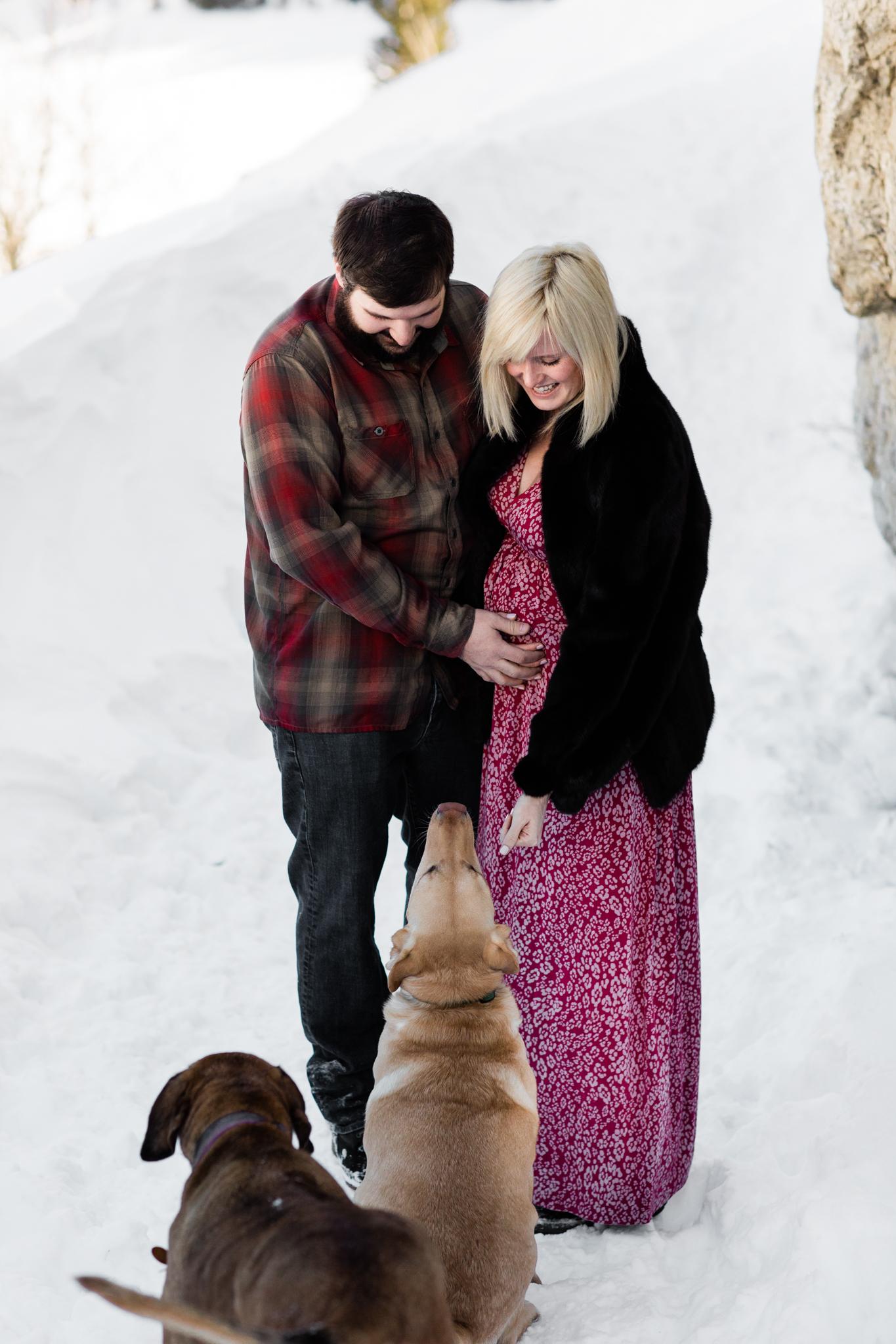 Lara Maternity Photography Breckenridge Colorado