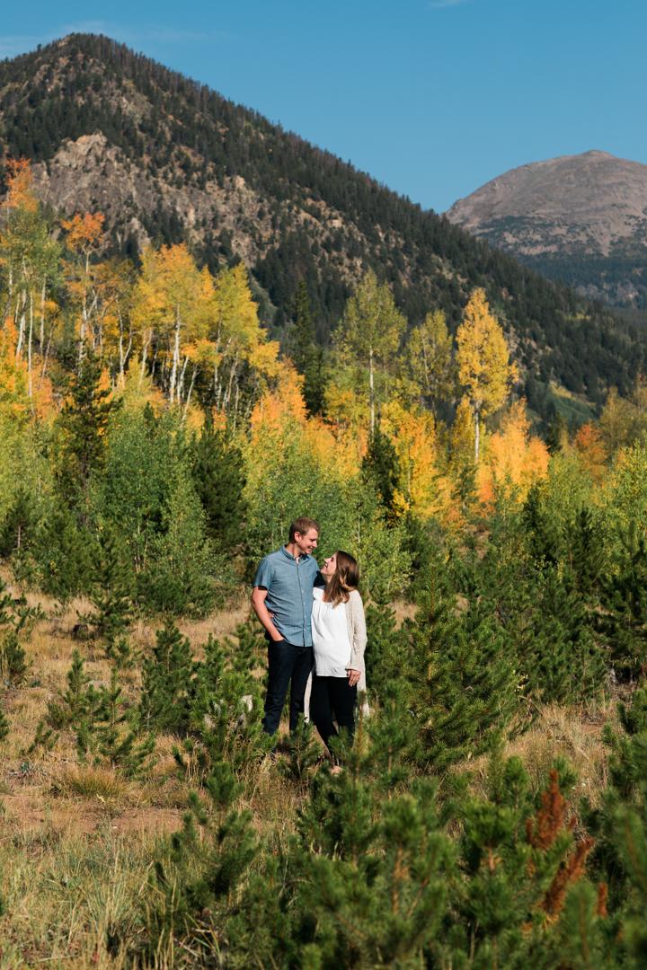 Kennedy Pregnancy Announcement Breckenridge Colorado