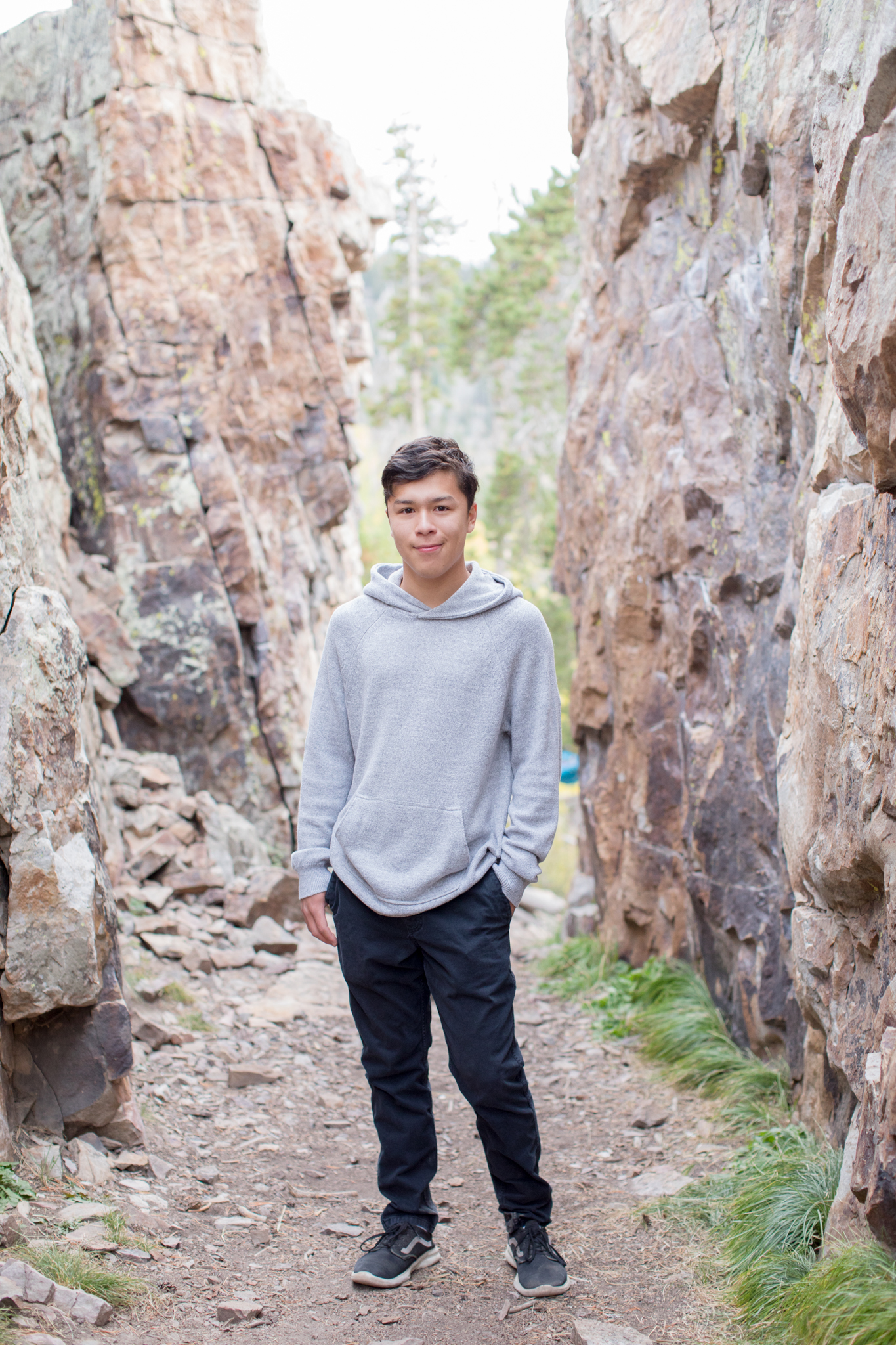 Gabe Dalrymple Senior Photography Breckenridge Colorado