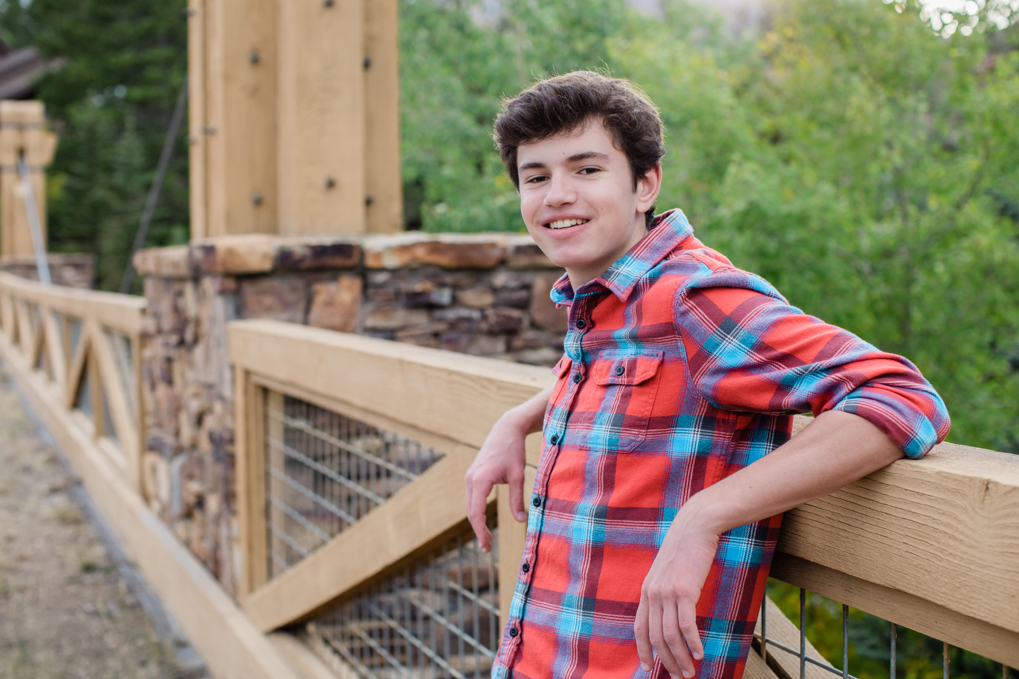 Sam Haynes Senior Photography Breckenridge Colorado