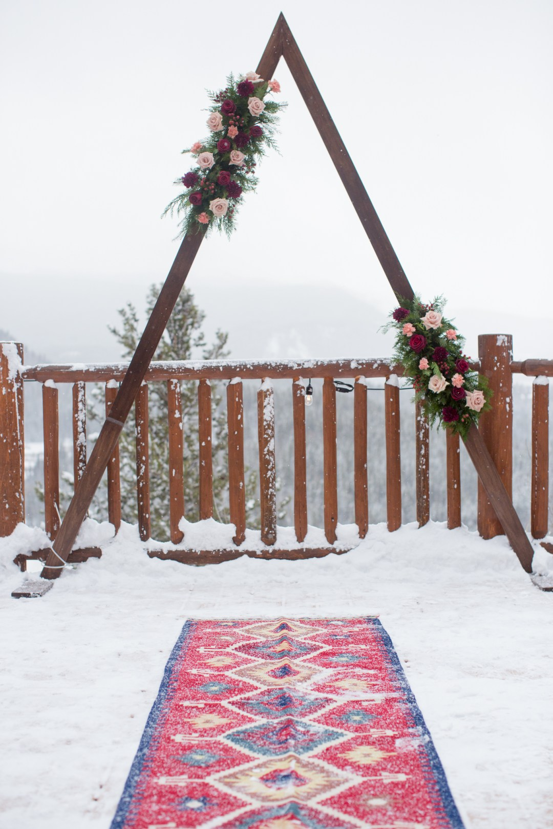 Christmas Wedding at the Lodge at Breckenridge details