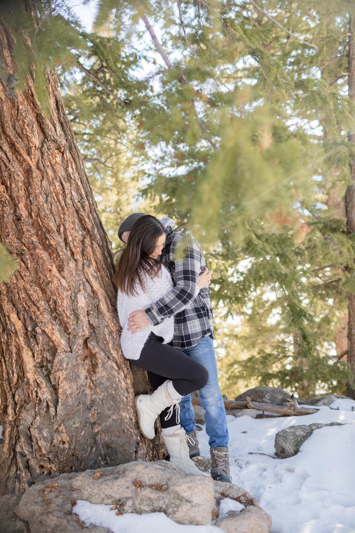 Bella Connor Engagement Photo Session Breckenridge CO