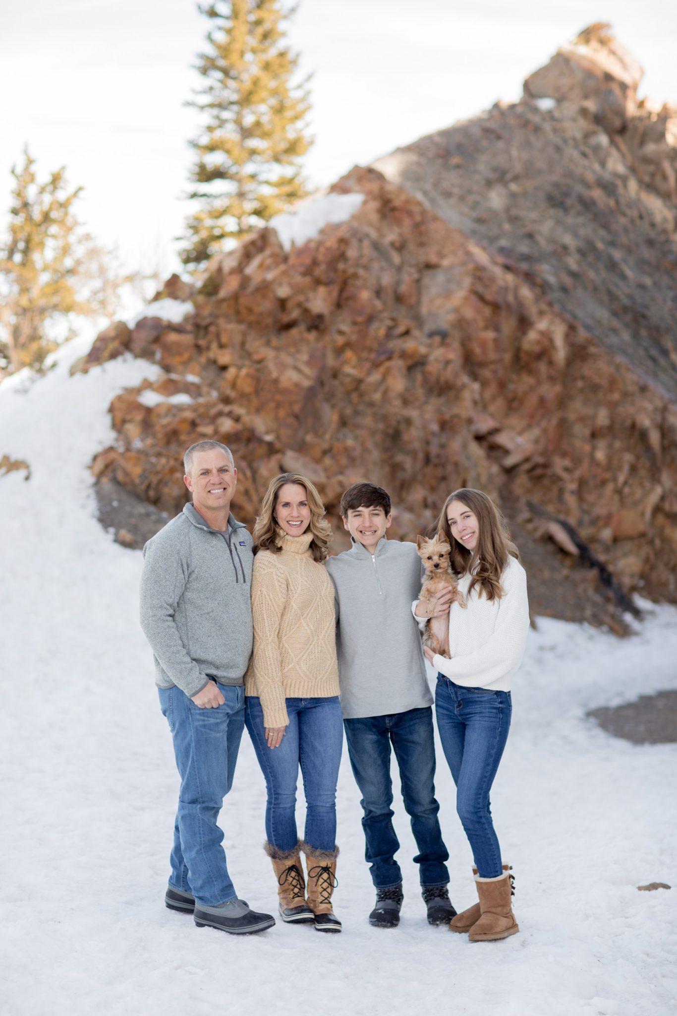 Byrd Family Breckenridge, Colorado