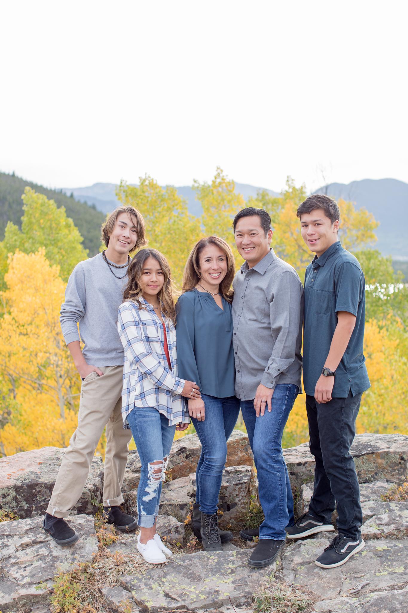 Dalrymple Family Breckenridge Family Photo Session