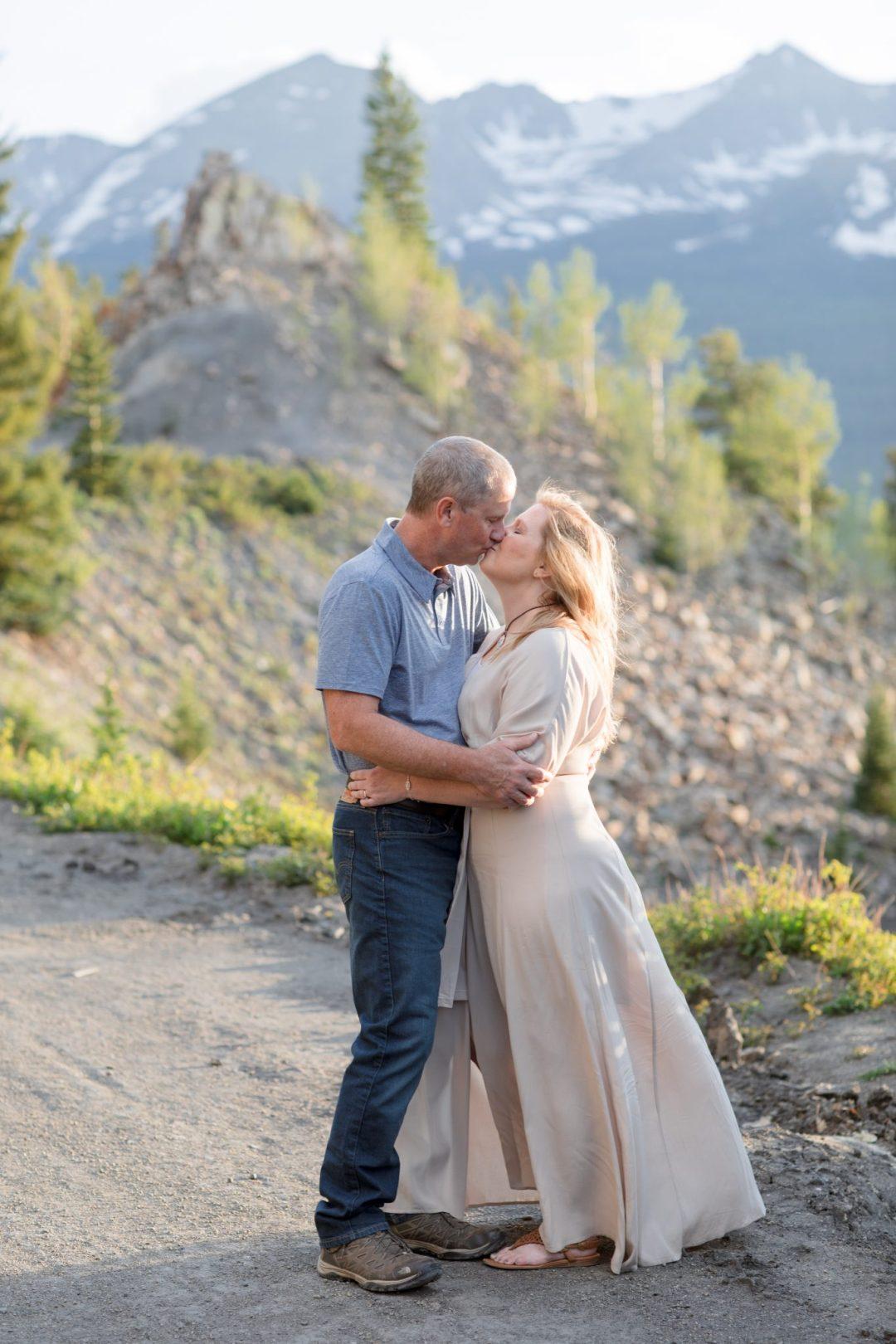 Couples portraits Breckenridge Colorado