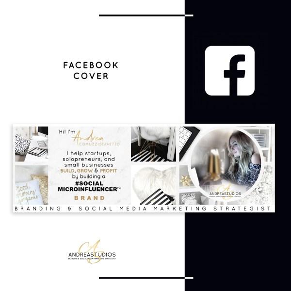 Facebook Cover Custom Design - AndreaStudios