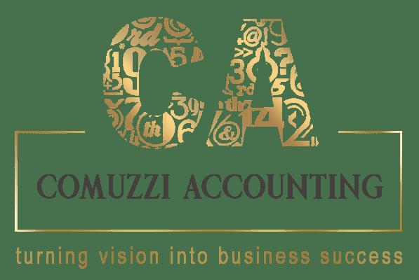 Logo Comuzzi Accounting Designed By Andrea Studios