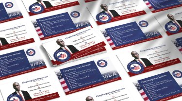 Brand Design & Strategy, Web Design and Printing for Filing Immigration Services