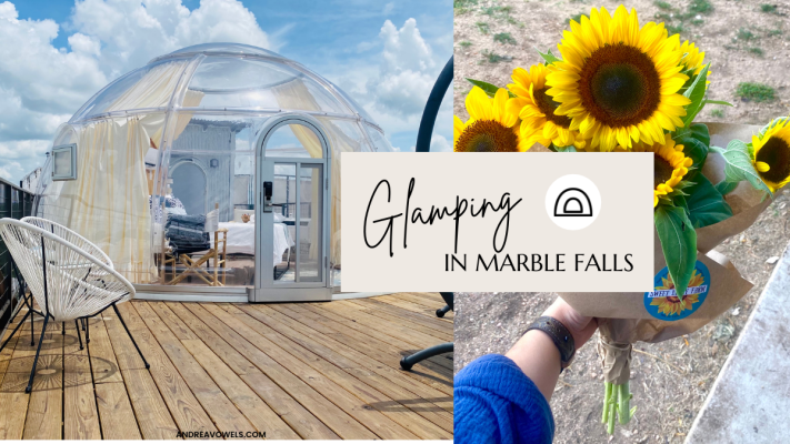 Glamping in Marble Falls