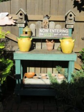 Delightful Potting Bench