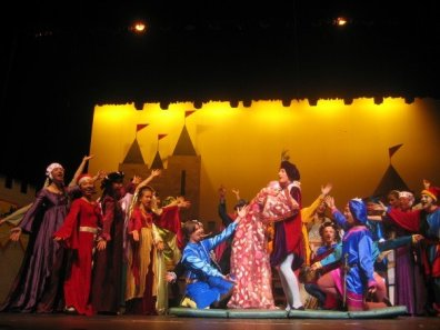 "Student Director and Choreographer for ""Once Upon a Mattress"" by Mary Rodgers in Beijing, China"