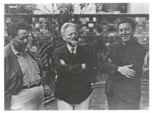 Image result for trotsky and diego