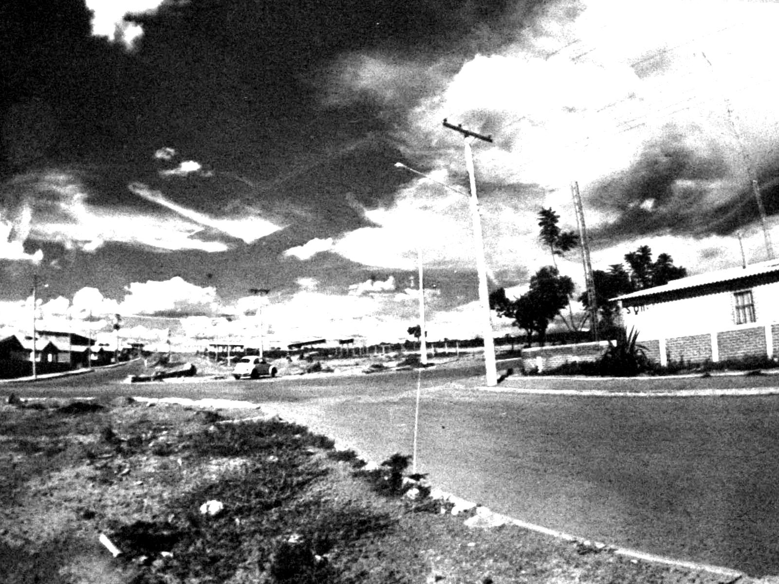 SQ 11 em 1977, com vista para a SQ 13.
