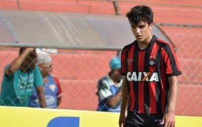 Matheus Anjos é a bola da vez no Atlético-PR
