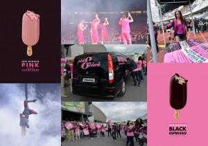 Colaj Pink & Black