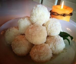 10. Bomboane fulgi de cocos