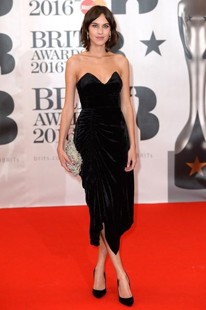 Alexa Chung, Brit Awards 2016