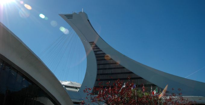 Montreal Tower in Olympic Park