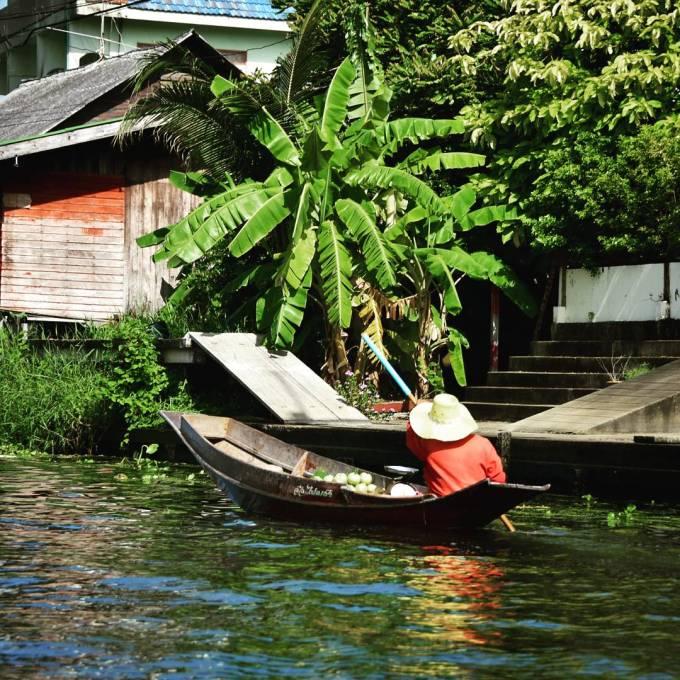 Damnoen Saduak Floating Market Bangkok Thailand