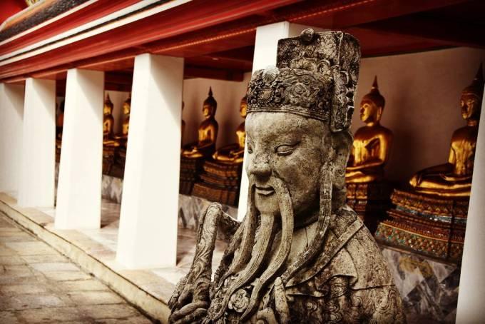Wat Pho Bangkok temple Thailand