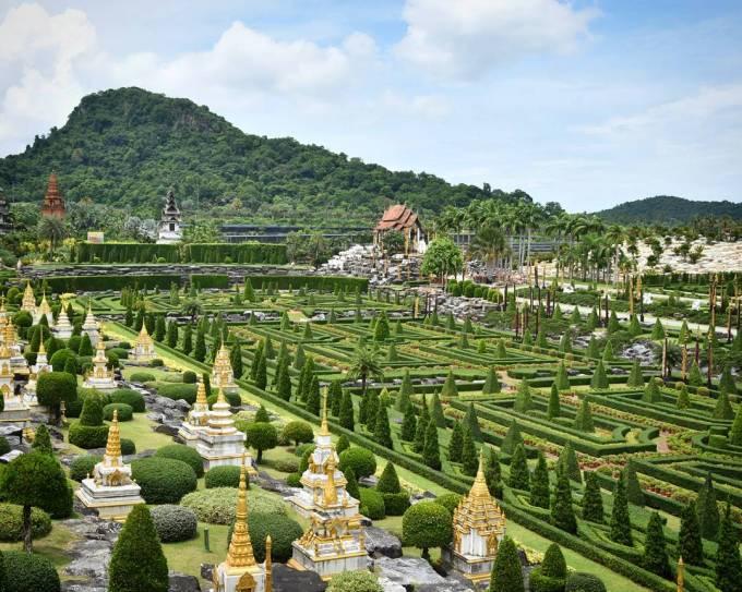 Nong Nooch Gardens Pattaya Thailand