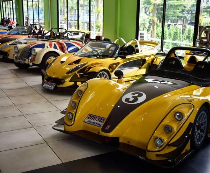 Nong Nooch Gardens Pattaya Thailand Cars