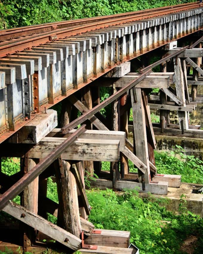 Death Railway, Kanchanaburi, Thailand, WWII