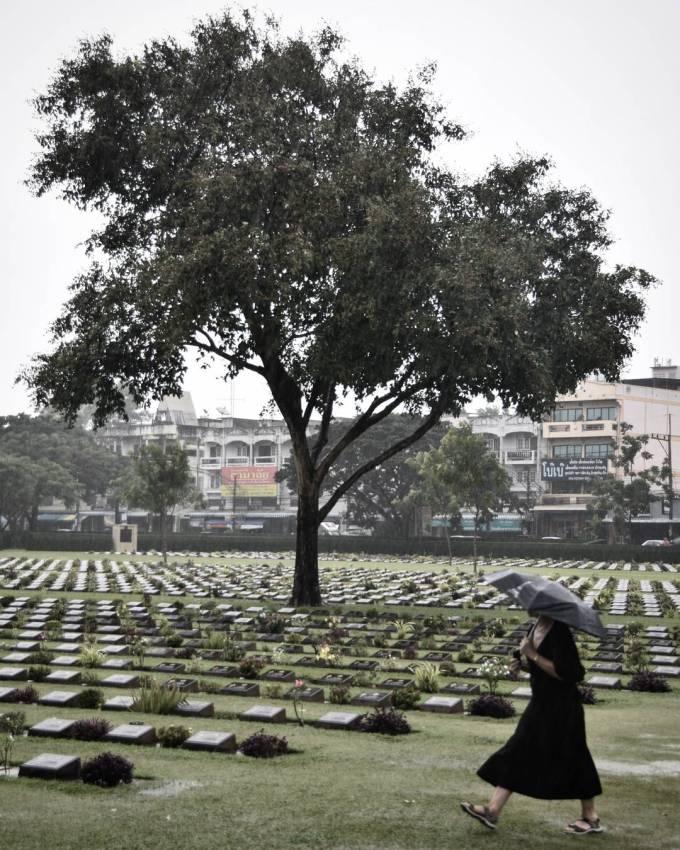 Kanchanaburi, WWII Cemetery, Thailand