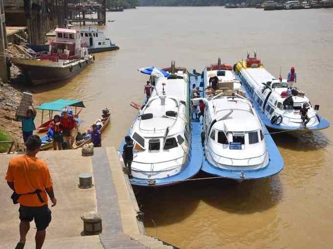 Sibu, Kapit, Rajang River, Sarawak, Malaysia, Borneo