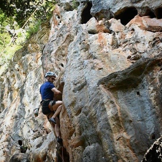 Railay, Krabi, Thailand, rock climbing, travel