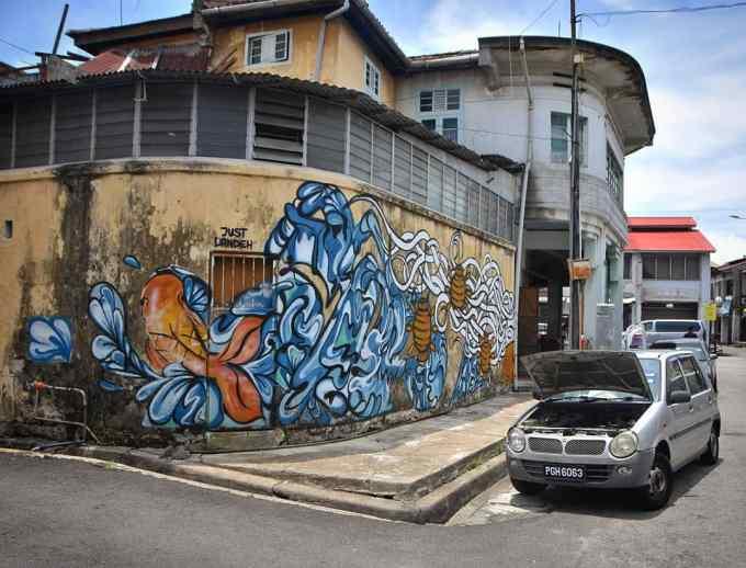 George Town, Penang, Malaysia, travel, street art