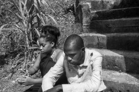 after daddy's burial...R.I.P