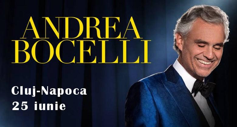 Photo of Andrea Bocelli în premieră în Cluj-Napoca