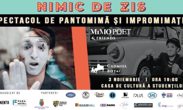 Photo of Mimo Poetul anunță primul spectacol de pantomimă în Cluj